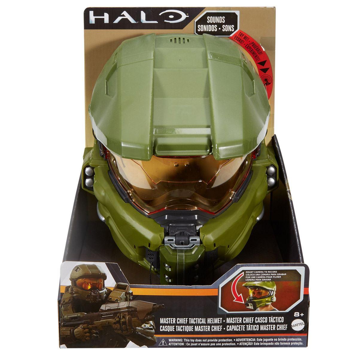 Halo Master Chief Casco Táctico