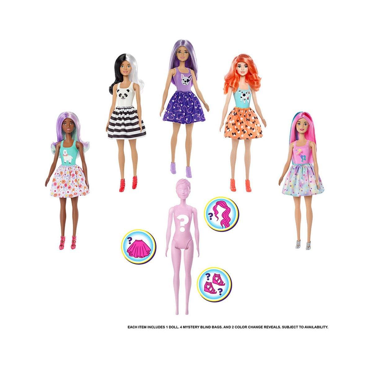 Barbie Color Reveal Muñeca Sorpresa