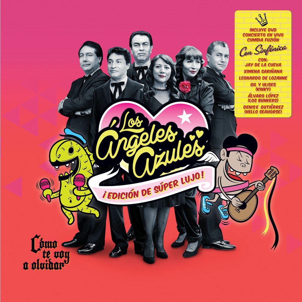 CD Los Ángeles Azules- Cómo Te Voy a Olvidar (Reedición)