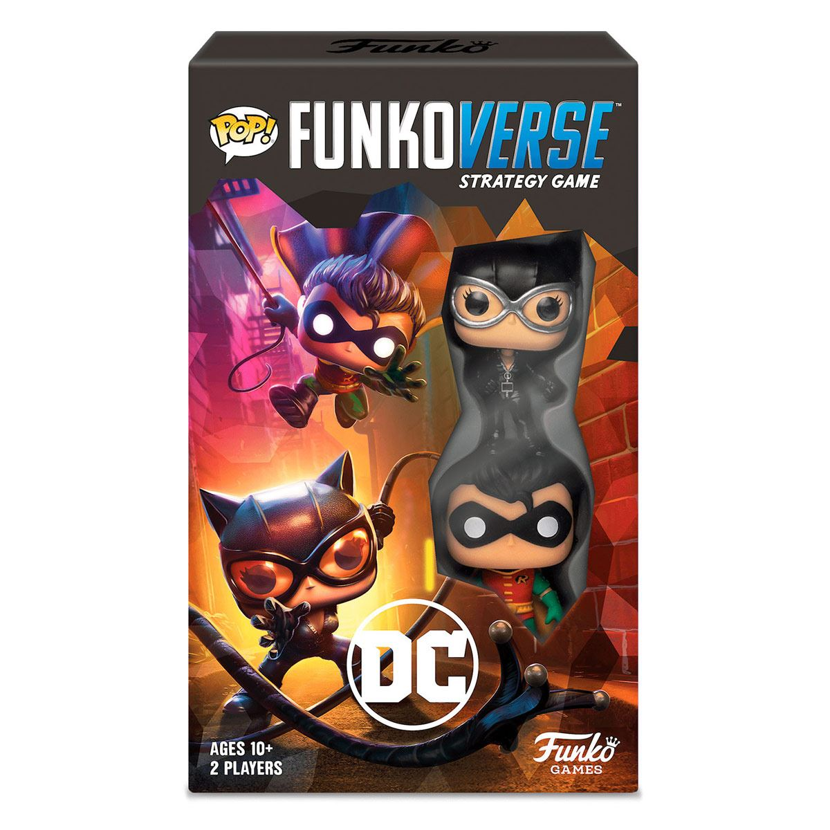 Juego de Mesa Funko Pop! Funkoverse Juego De Estrategia Dc Comics 2pk