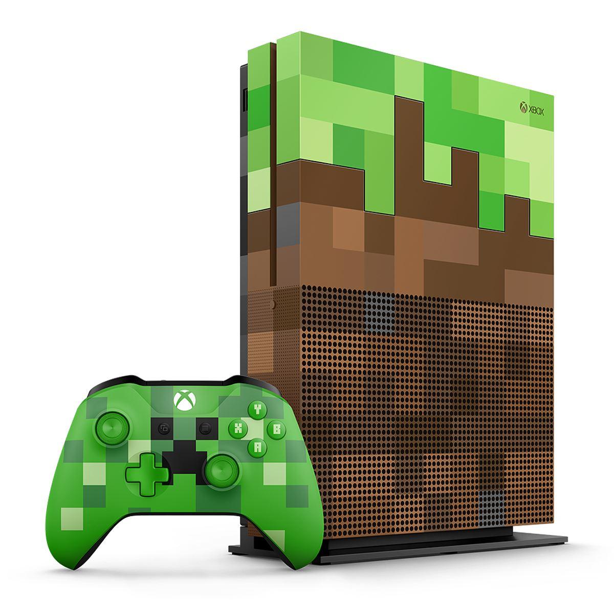 Consola Xbox One 1TB Minecraft Edition