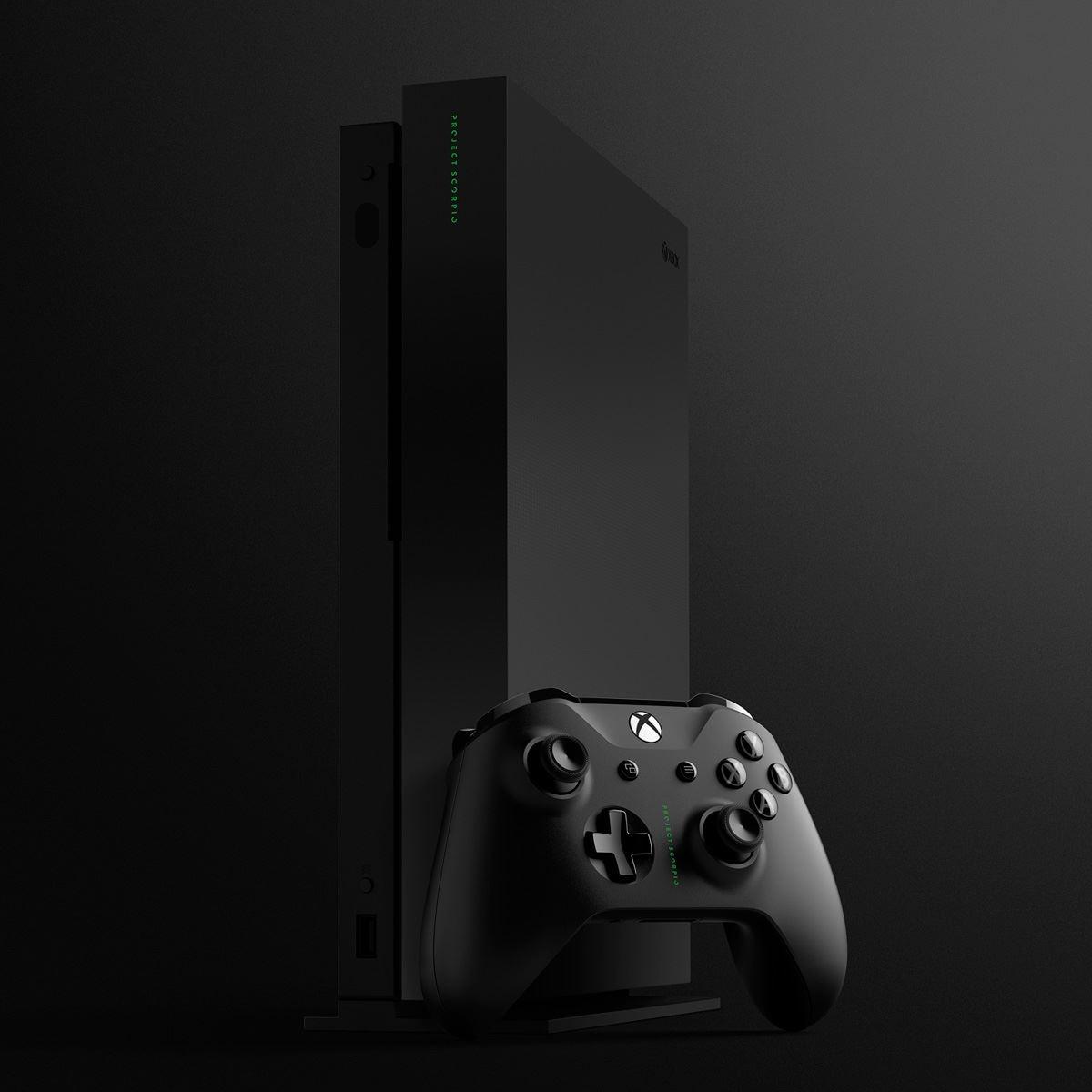 Preventa Consola Xbox One X 1TB Project Scorpio Edition