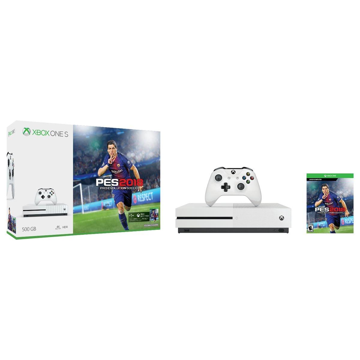Consola Xbox One de 500Gb + PES 18