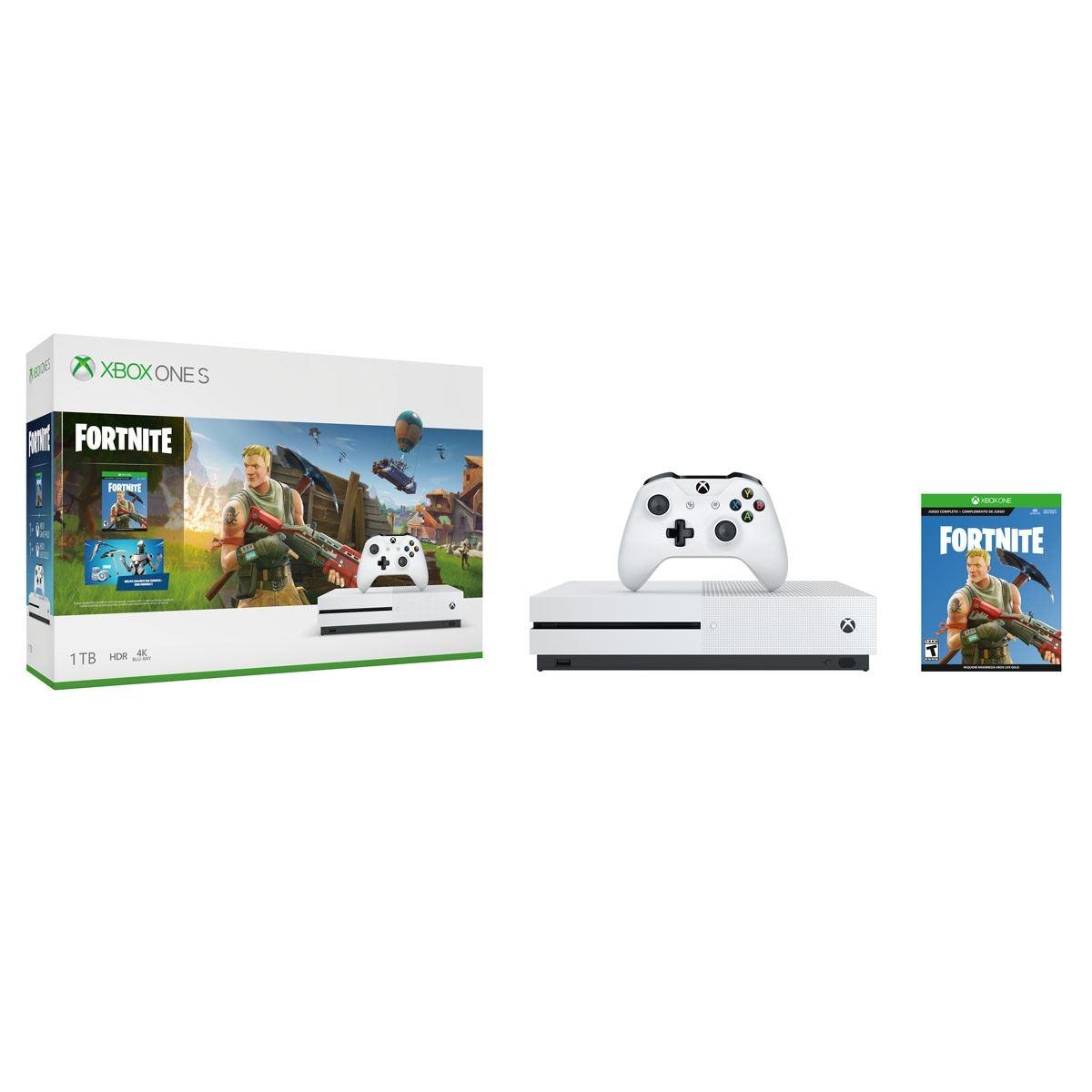 Consola Xbox One S 1TB Fortnite