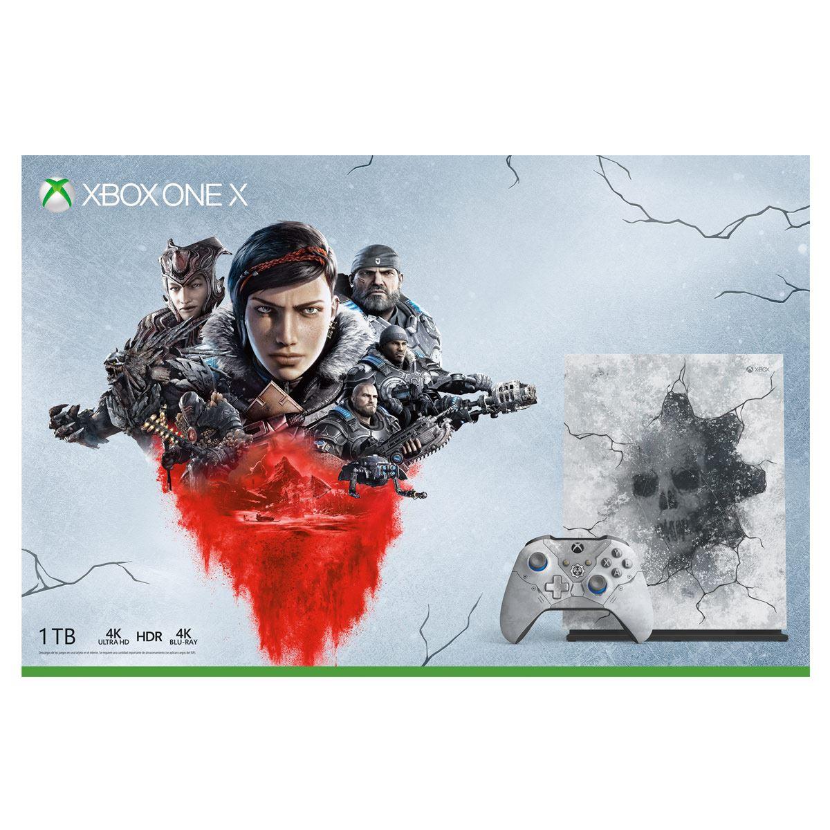 Consola Xbox One X 1TB Gears 5