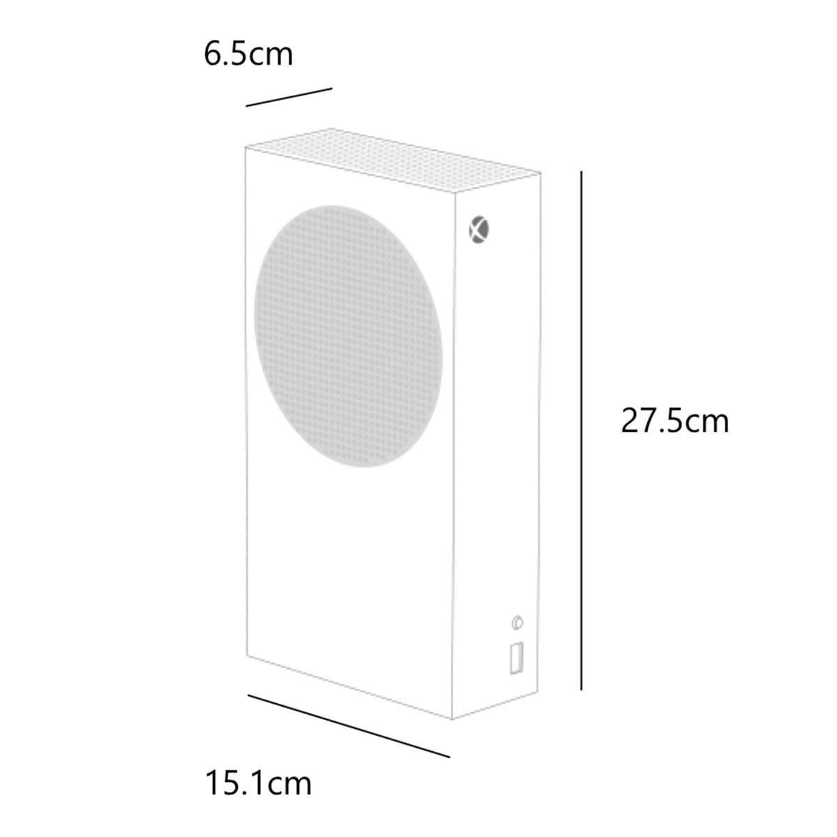 Consola Xbox Series S 512GB (1 control) Blanco