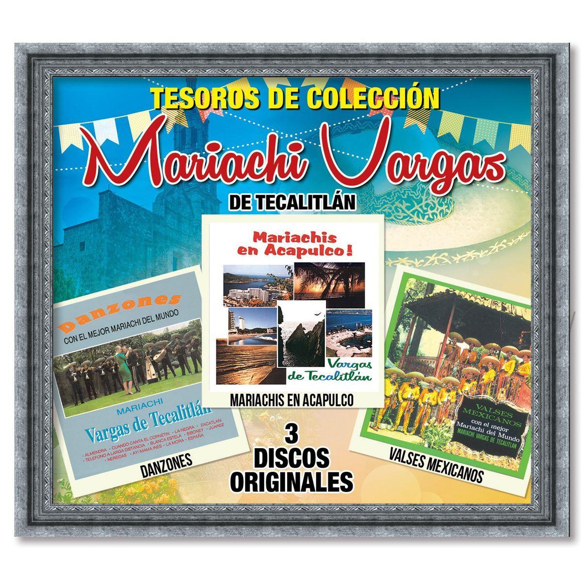 CD3 Mariachi Vargas de Tecalitlán Tesoros de Colección