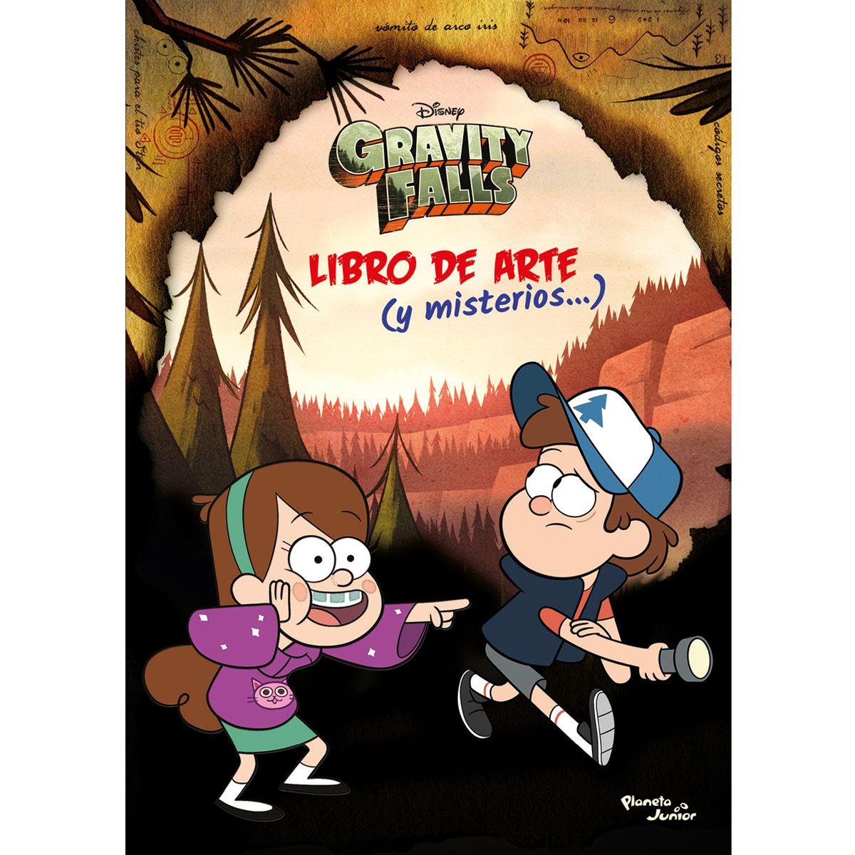 Gravity Falls. Libro de arte (y misterios…)