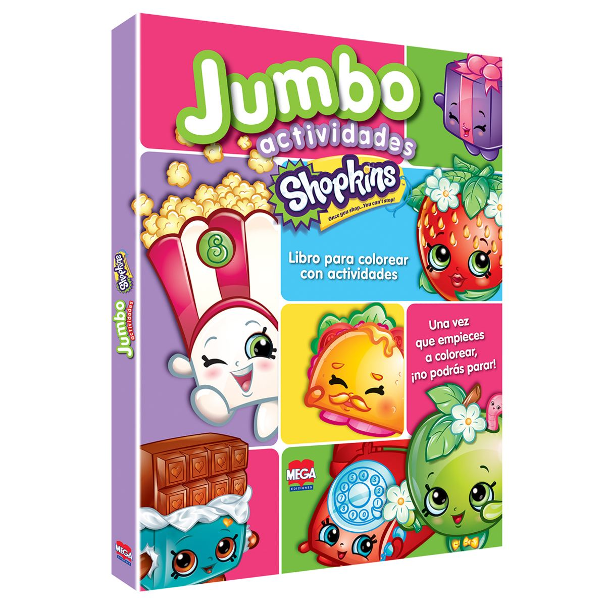 Shopkins Jumbo actividades
