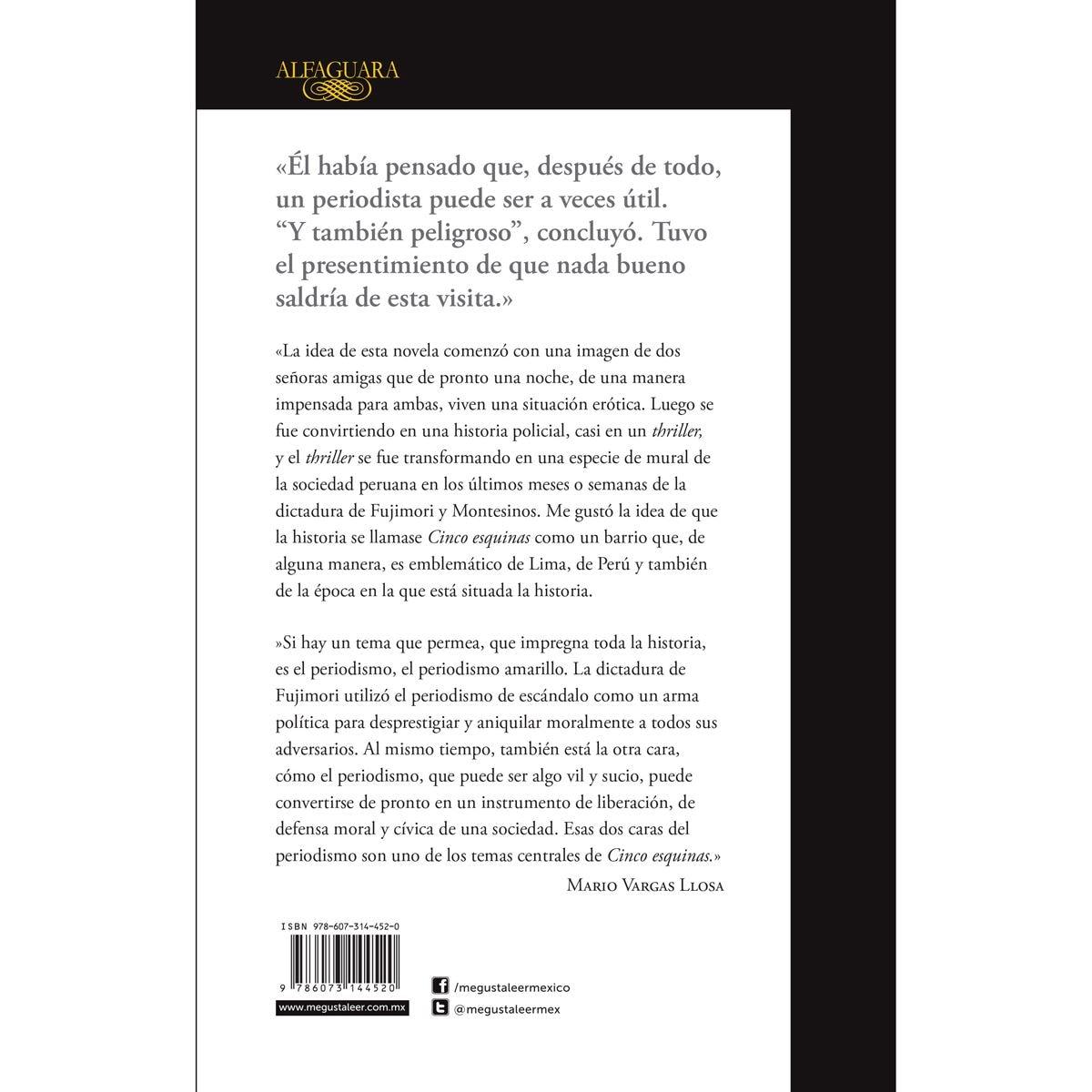 Cinco Esquinas (Edición Sanborn´s)