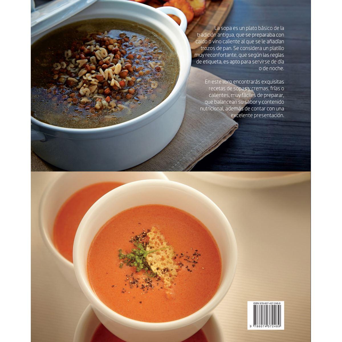 Cocina esencial, cremas y sopas