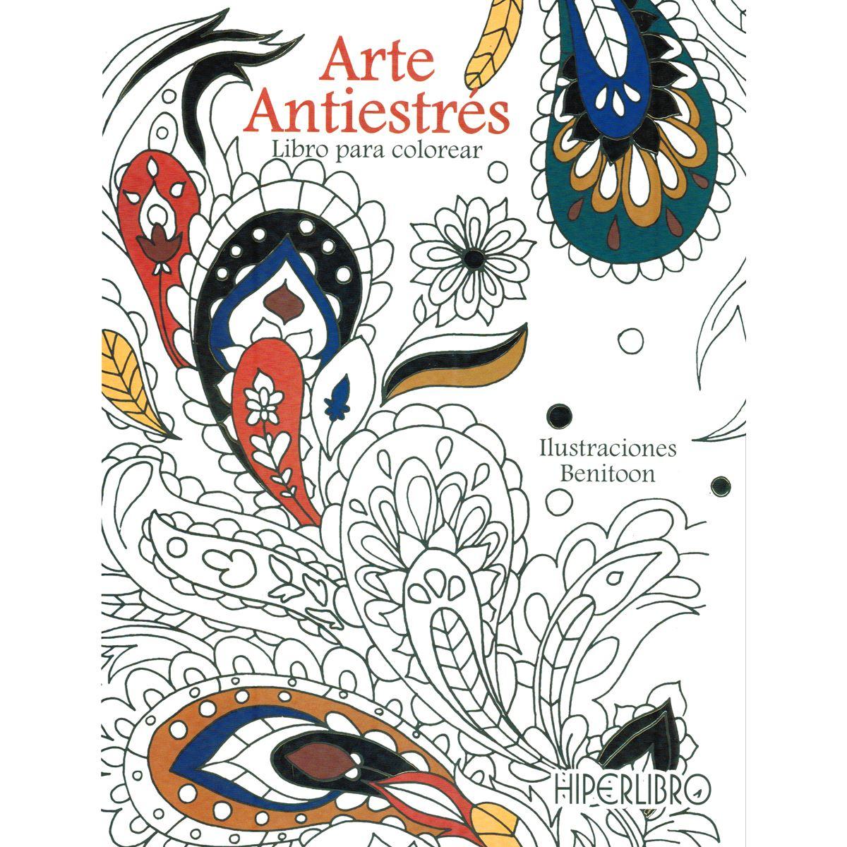 Arte Antiéstres. Libro para colorear