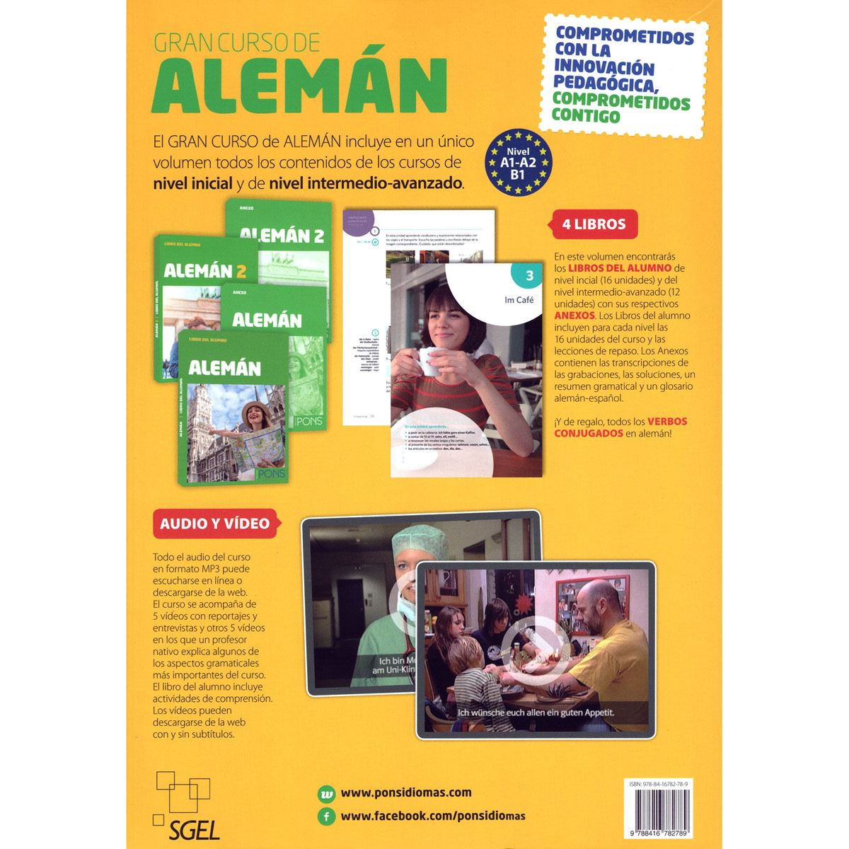 Gran curso de Alemán 4 Libros