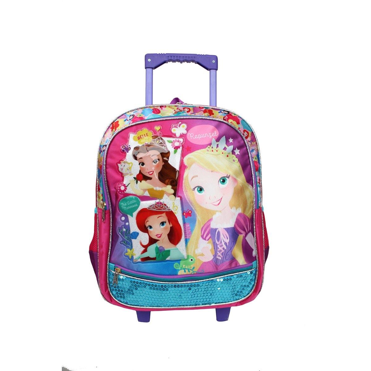347161fe5 Mochila tipo backpack ruedas primaria princesas ruz