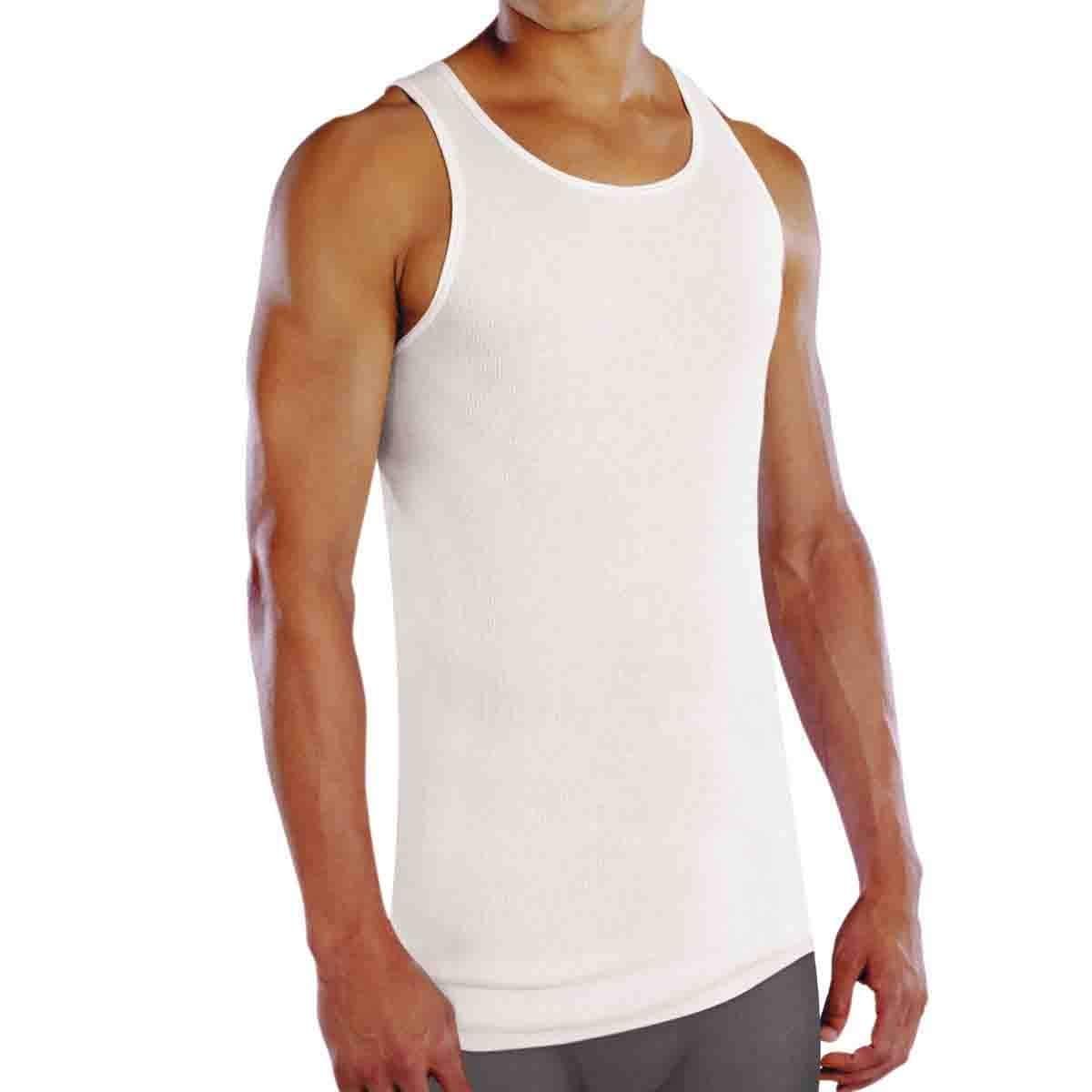 Camiseta Atlética de Algodón Premium Ultra Suave Blanco para Hombre. Paquete de 3 Fruit Of The Loom