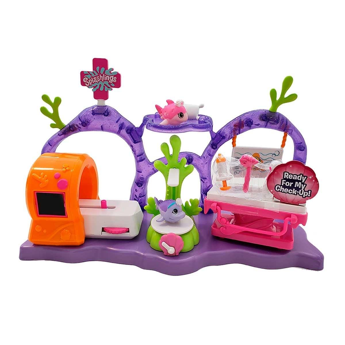 Clinica para Splashlings Toy Plus