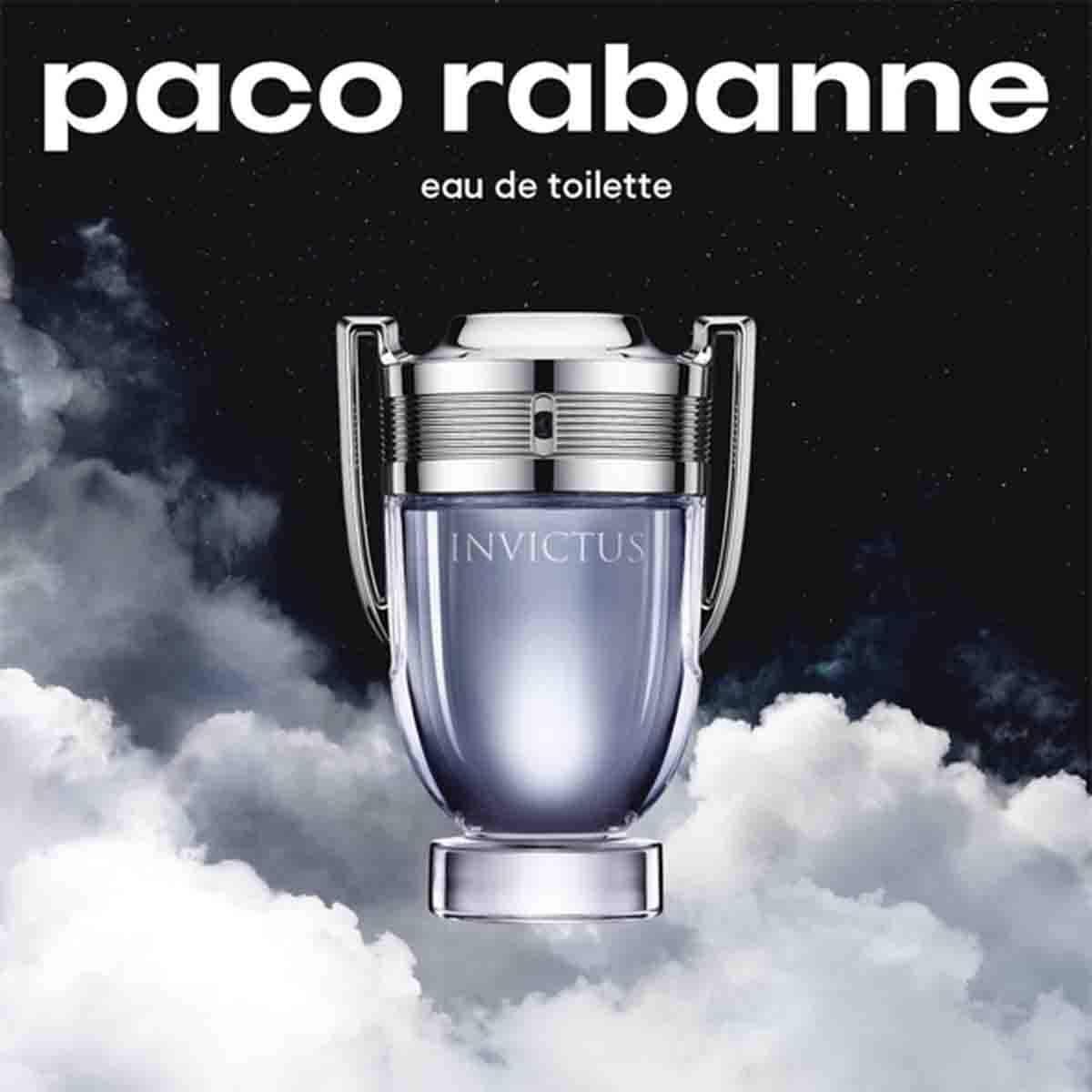 Fragancia para Caballero Paco Rabanne Invictus Edt 100Ml