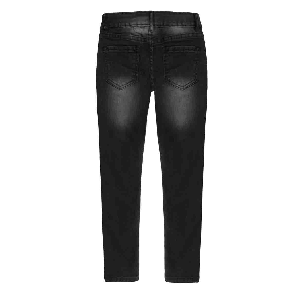 Jeans Skinny con Procesos al Frente 5 Bolsas Fukka