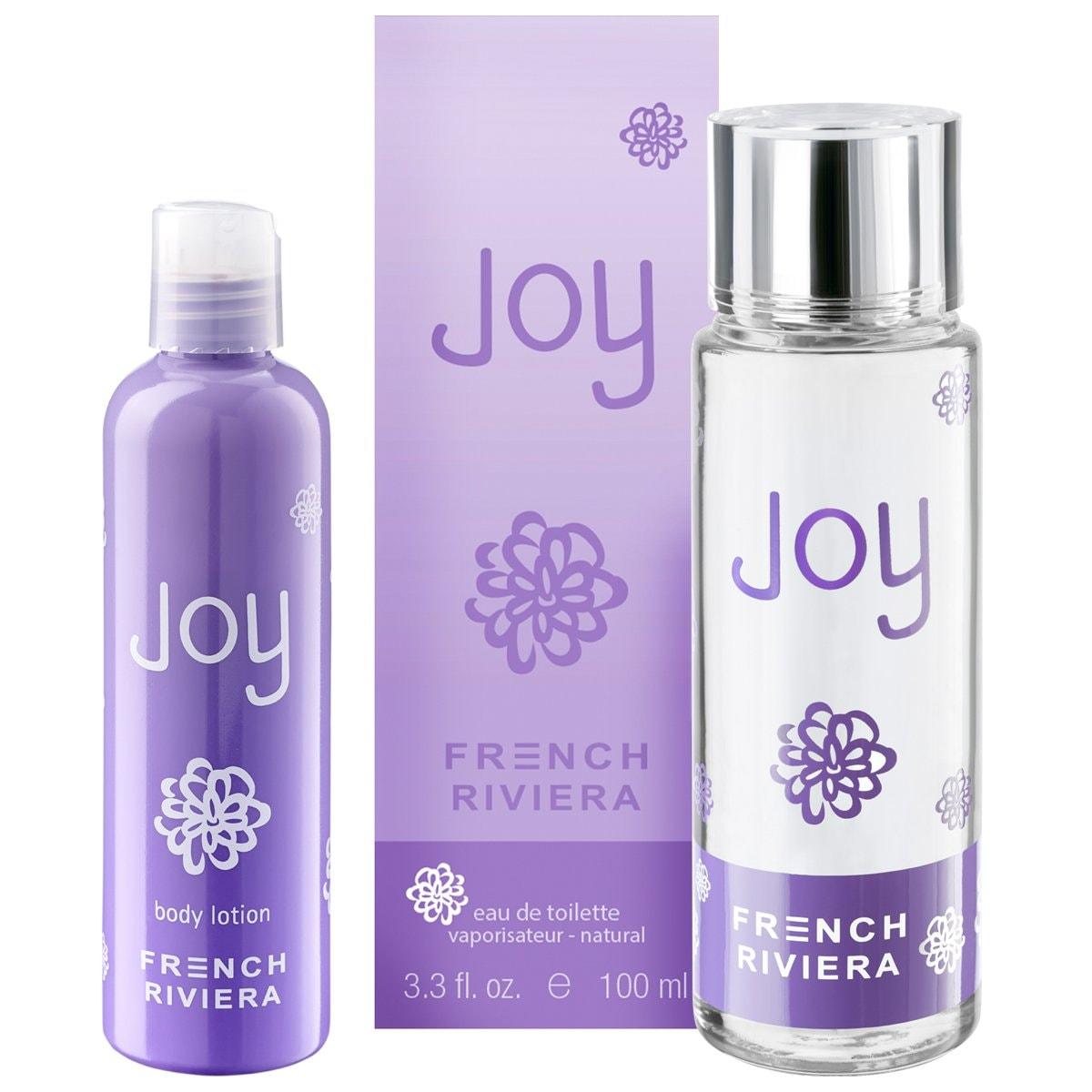 Fragancia para Dama French Riviera Joy Edt 100 Ml + Body Lotion