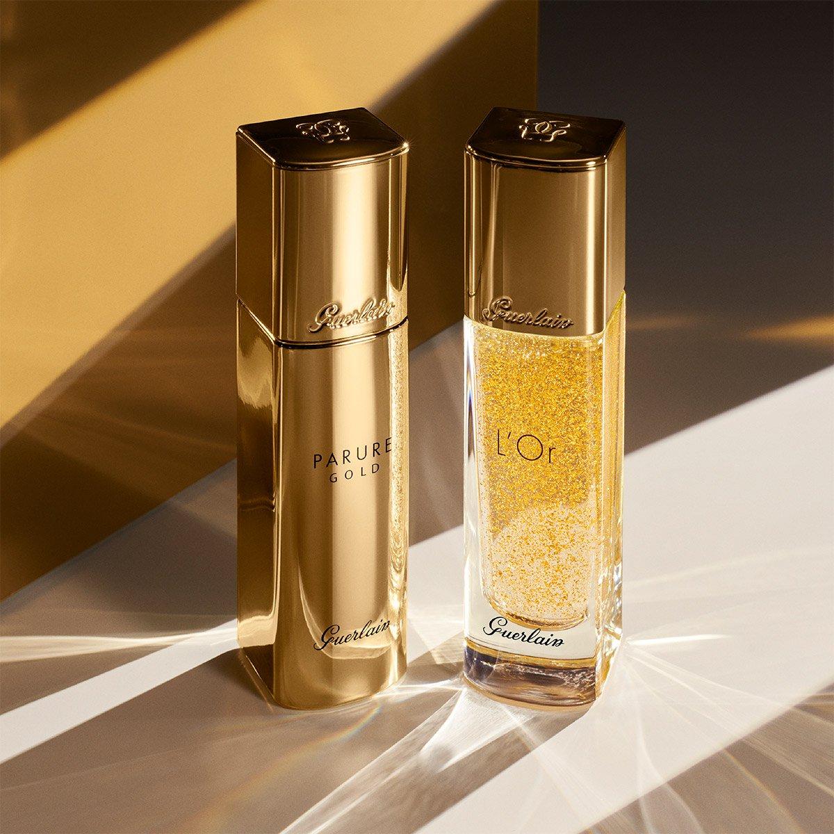Base de Maquillaje Fluida Guerlain Parure Gold 03 Beige Naturel 30 Ml