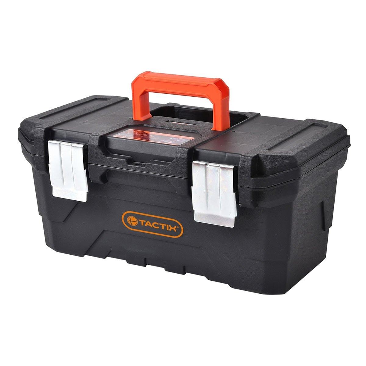 Caja Herramienta de Plástico 40.8 Cm (16 In) Tactix