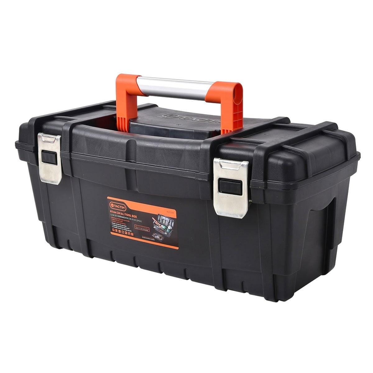 Caja Herramienta de Plástico 61 Cm (24 In) Tactix