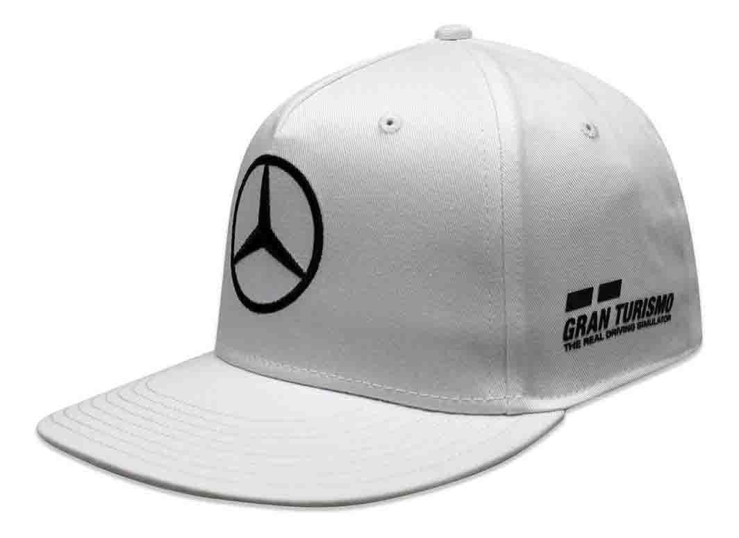 Gorra Unisex Mercedes F1 Blanca Branded