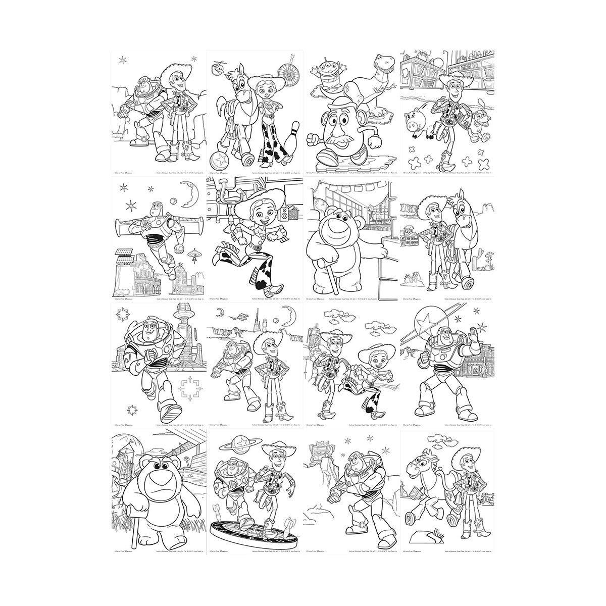 Para Colorear Toy Story 4 Dibujos - Crafts DIY and Ideas Blog