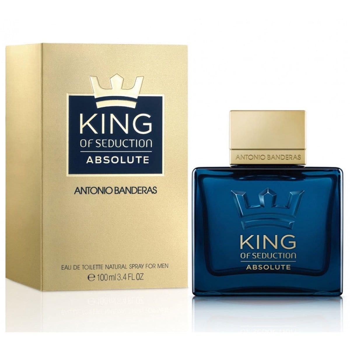 Fragancia para Caballero Antonio Banderas King Of Seduction Absolute Edt 100Ml