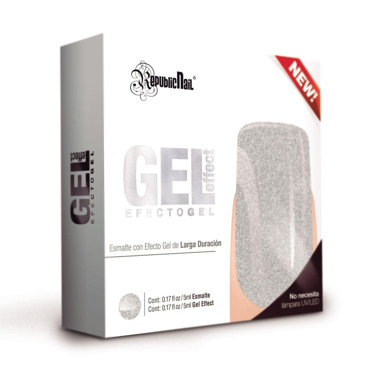 Gel Effect Español Silver Rock Republic Nail