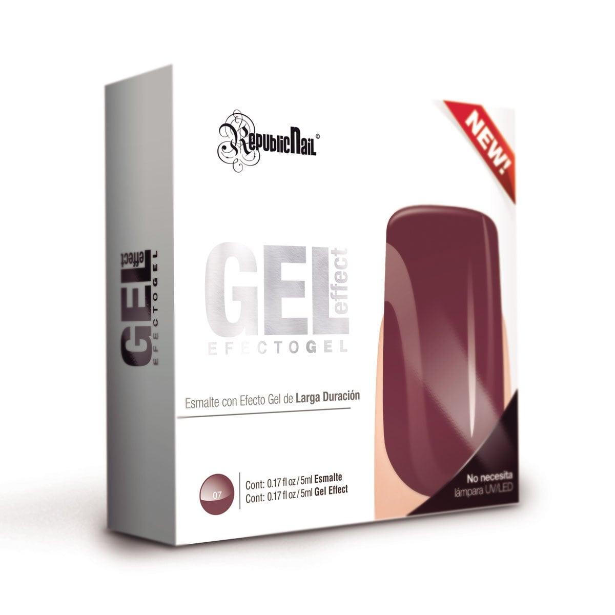 Gel Effect Español Wine Toast Republic Nail