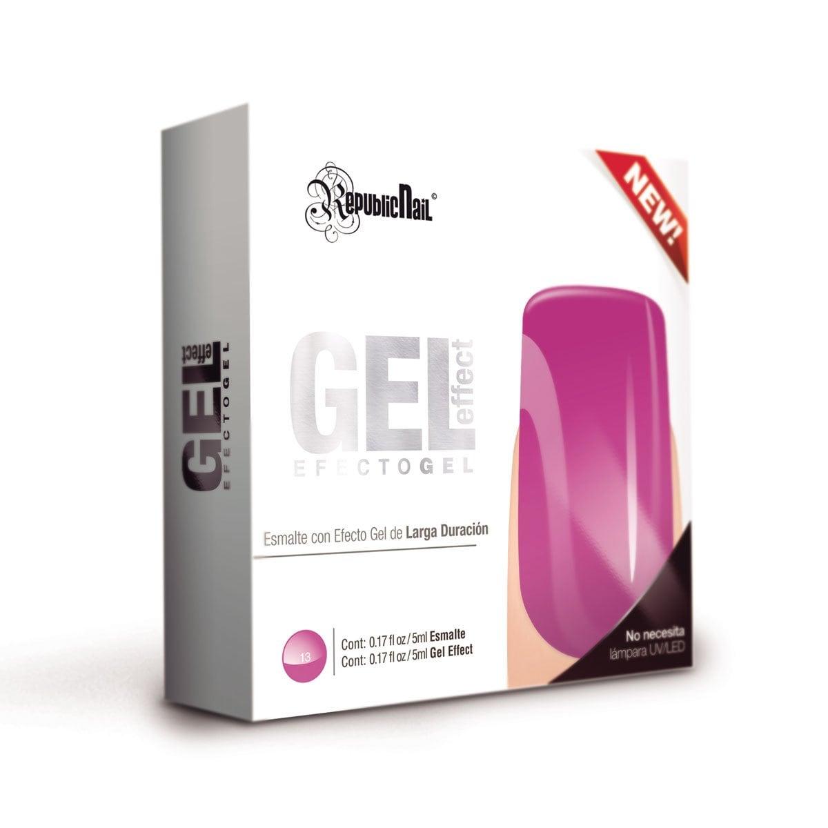 Gel Effect Español Fresh Grape Republic Nail
