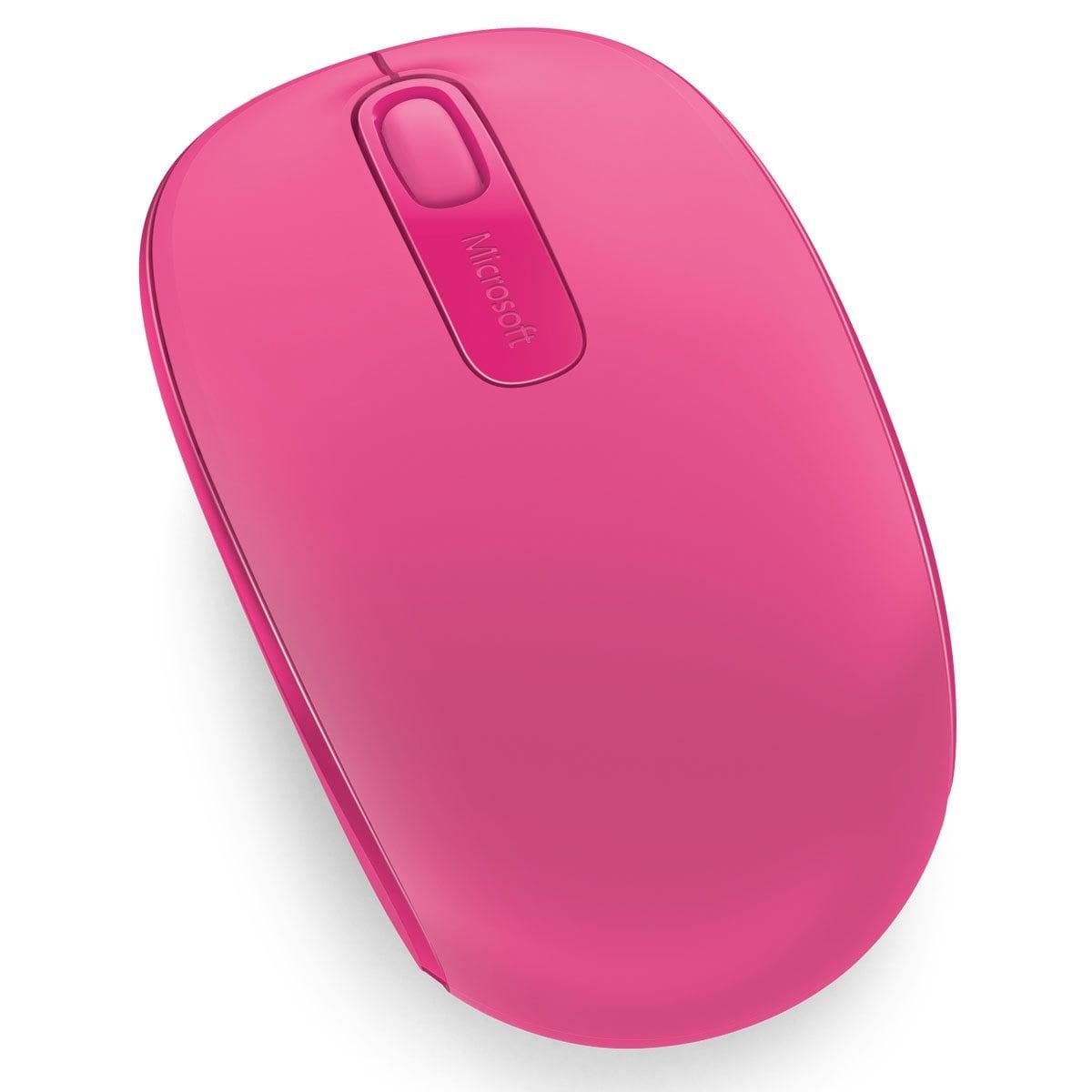 Mouse Inalámbrico 1850 Magenta/pink Microsoft
