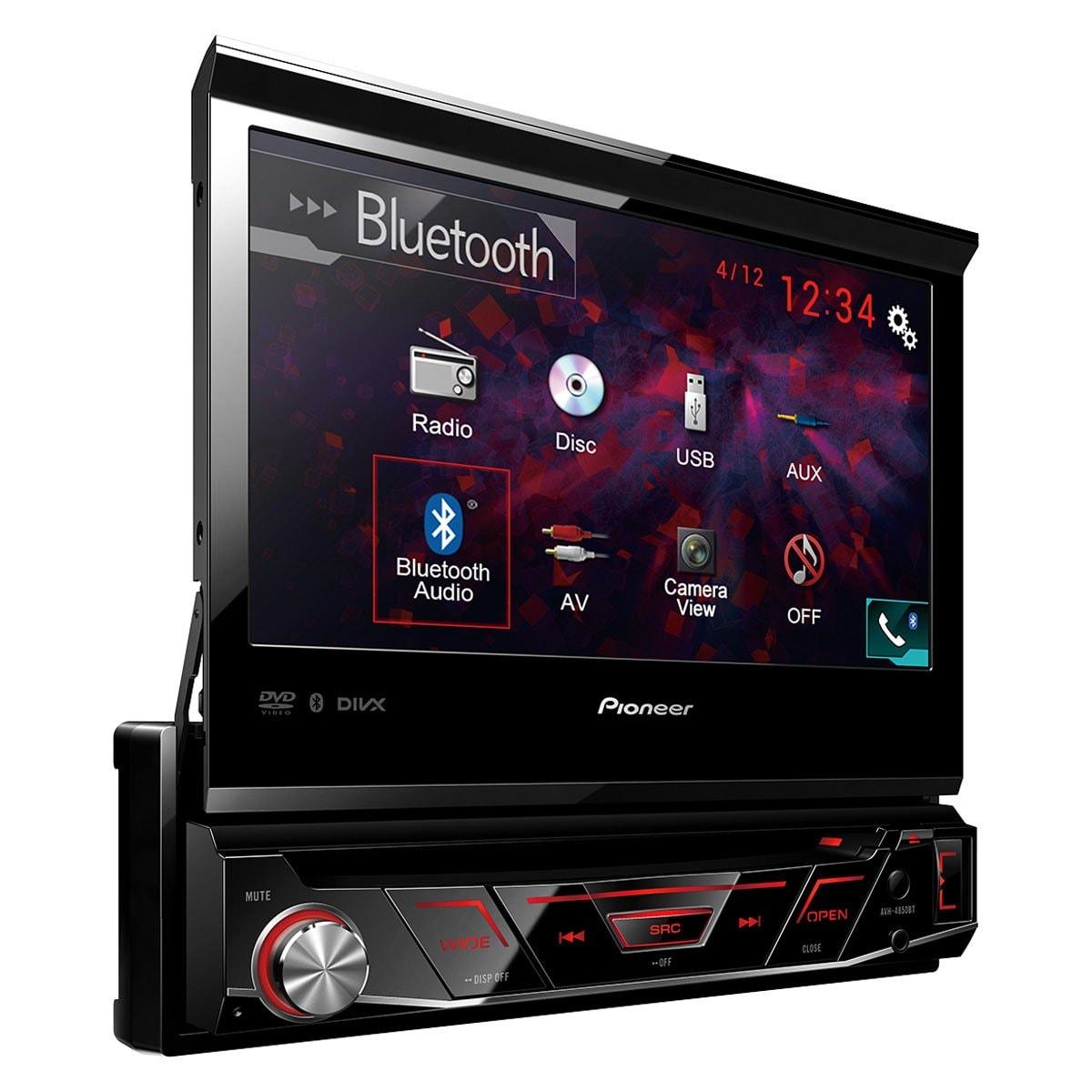 Autoestéreo Multimedia Rt Pioneer 7 Dvd Usb Avh4850Bt