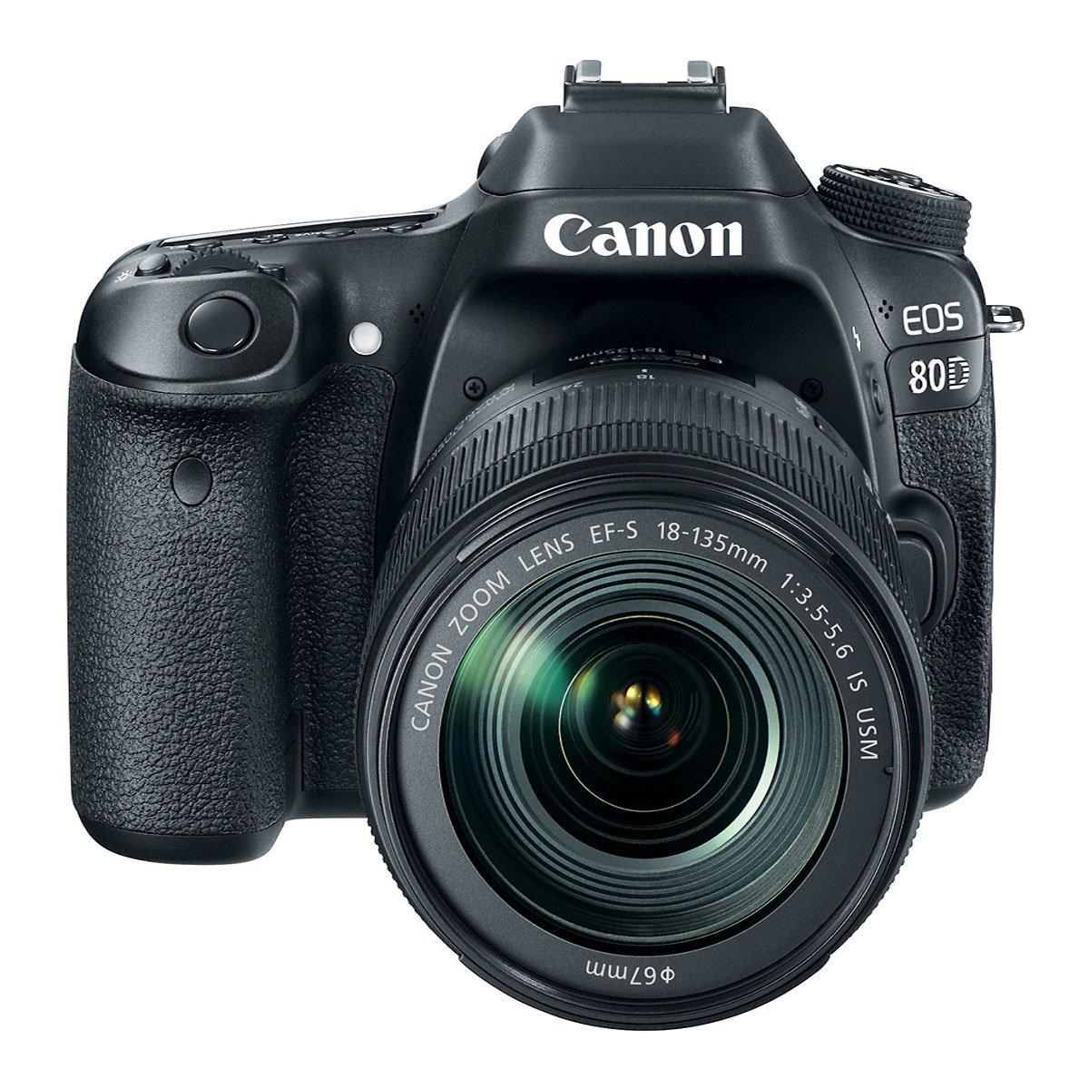 Cámara Canon Eos 80D 24.3 Mp Wi-Fi Ef-S18 - 135Mm