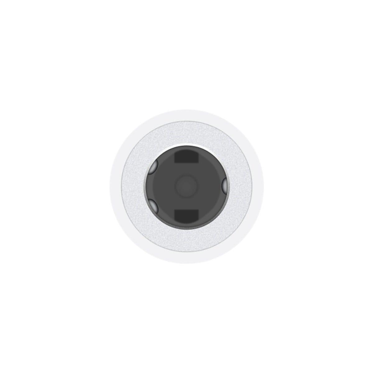 Adaptador de Audífonos Lightning 3.5Mm Apple