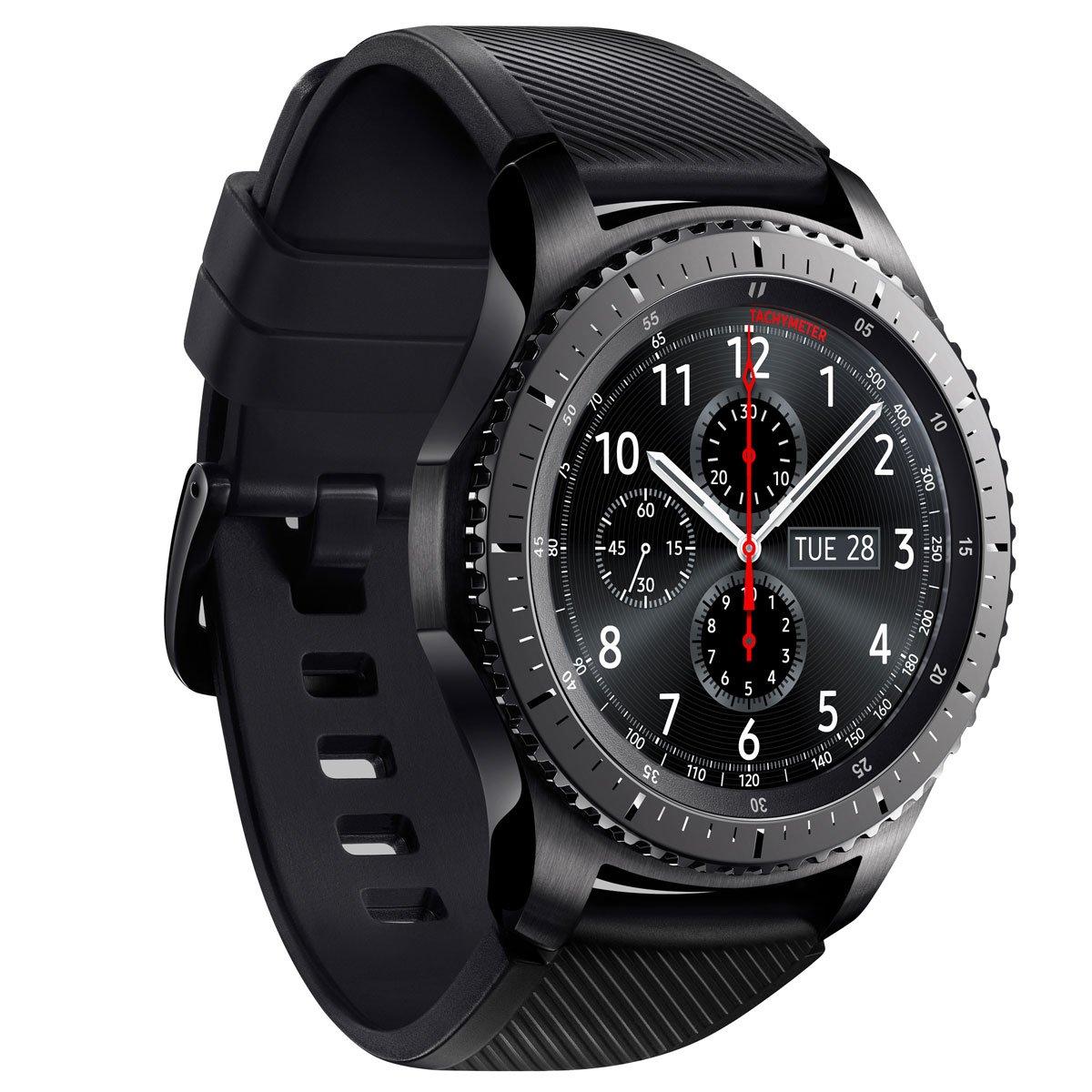 Reloj Samsung Gear S3 Frontier Sm-R760Ndaamxo Negro