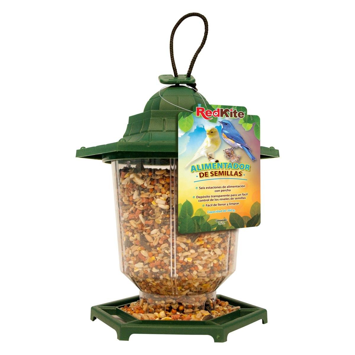 Alimentador Semillas para Aves 360 Grs
