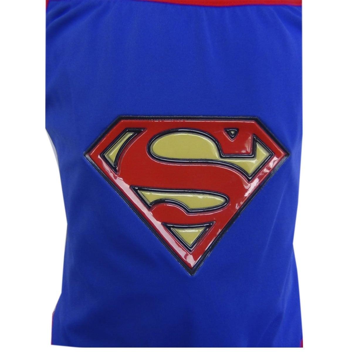 Traje Completo Baño Superhero Girls Supergirl Tutu De dWCrxeoB