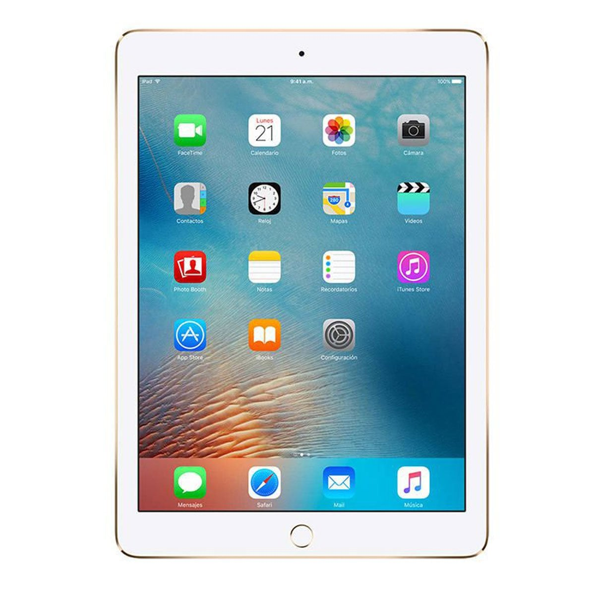 Ipad 9.7 Wi-Fi 128Gb Gold Mpgw2Cl/a