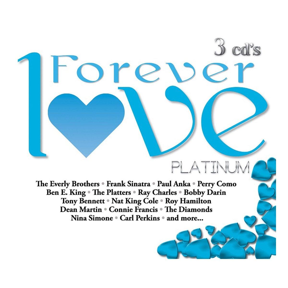 3 Cds Varios Forever Love Platinum