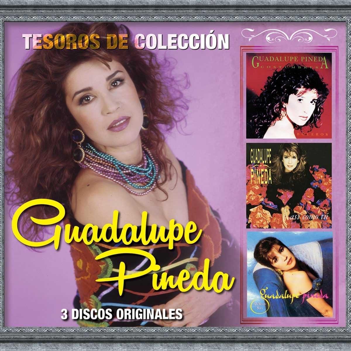 3 Cds Guadalupe Pineda Tesoros de Colección