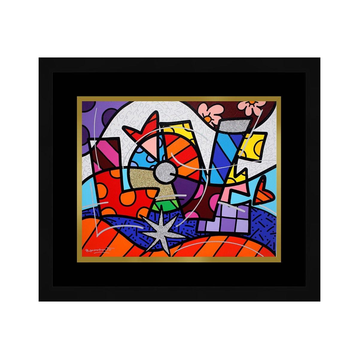 Cuadro Decorativo Love 41324 Carre
