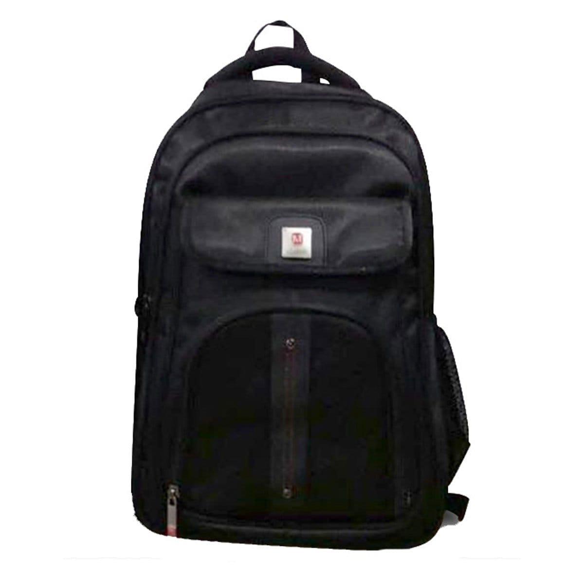 Back Pack Porta Lap Top 0001 Negro Classic Classic