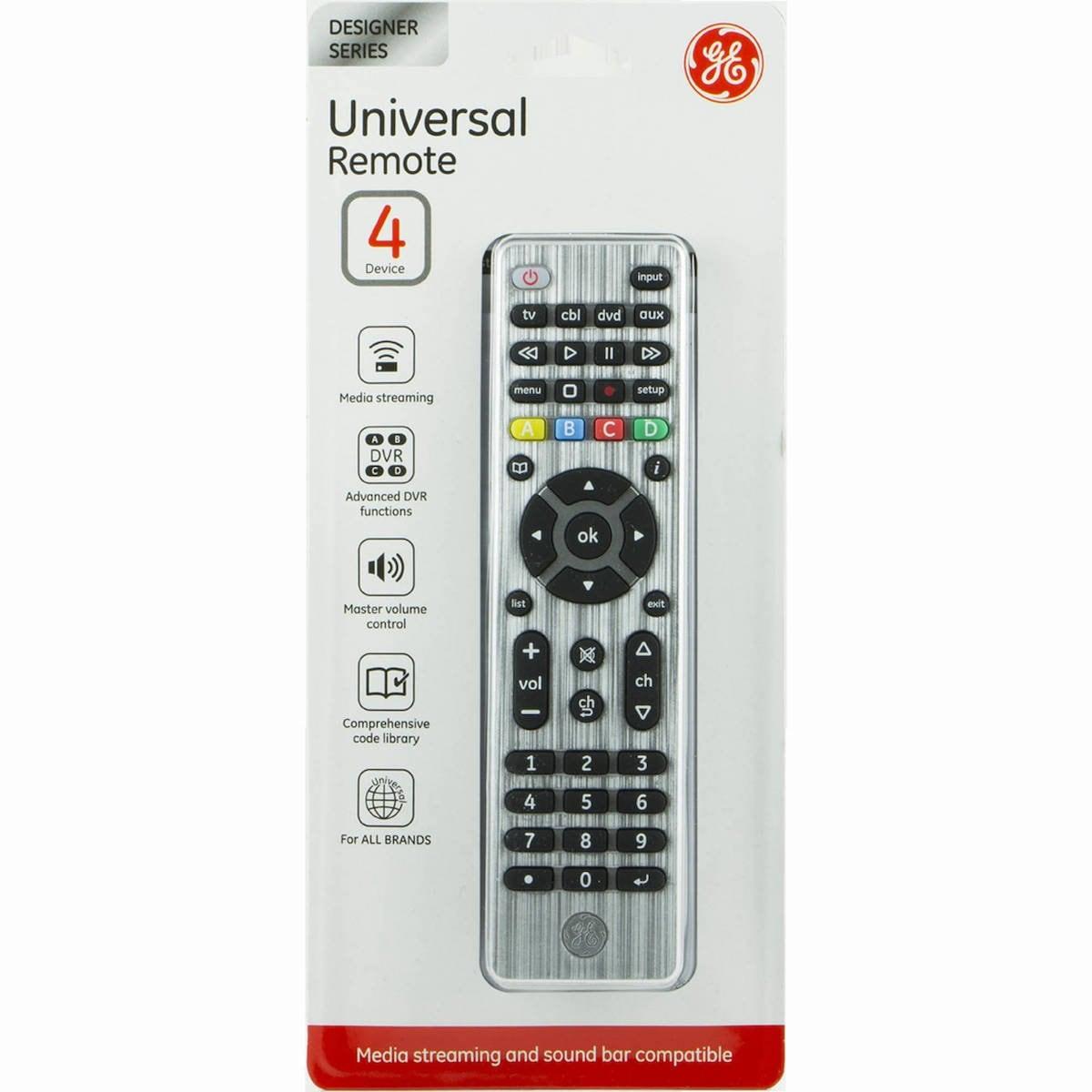 Control Universal Jasco 4 Dispositivos