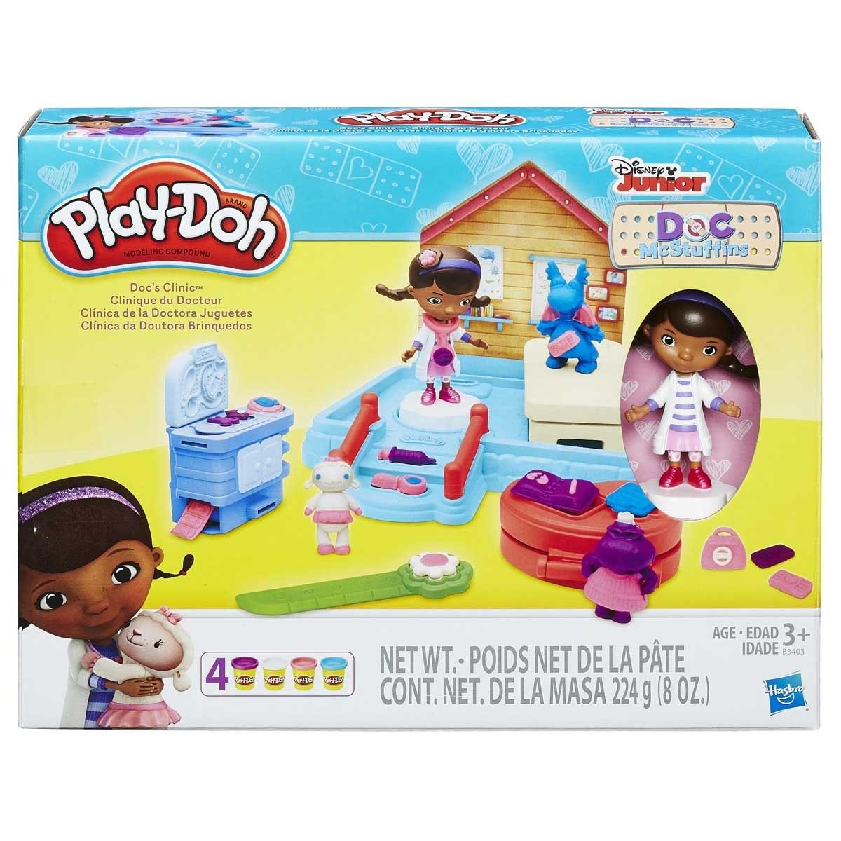 Play Doh Clínica de la Doctora Juguetes Hasbro