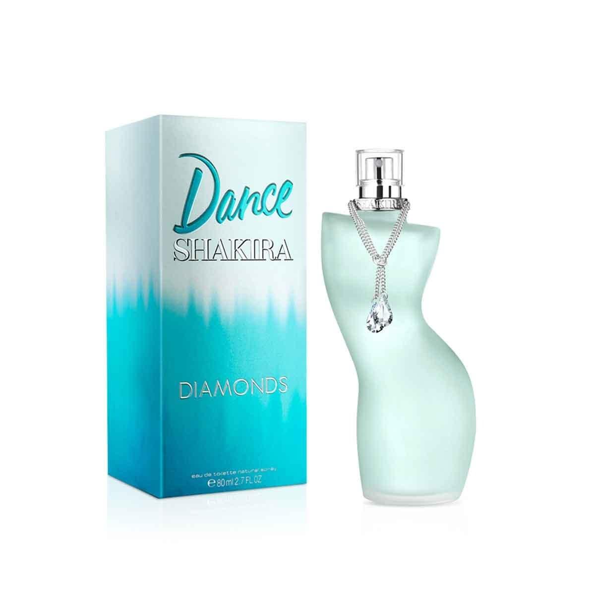 Fragancia para Dama Shakira Dance Diamonds Edt 80Ml