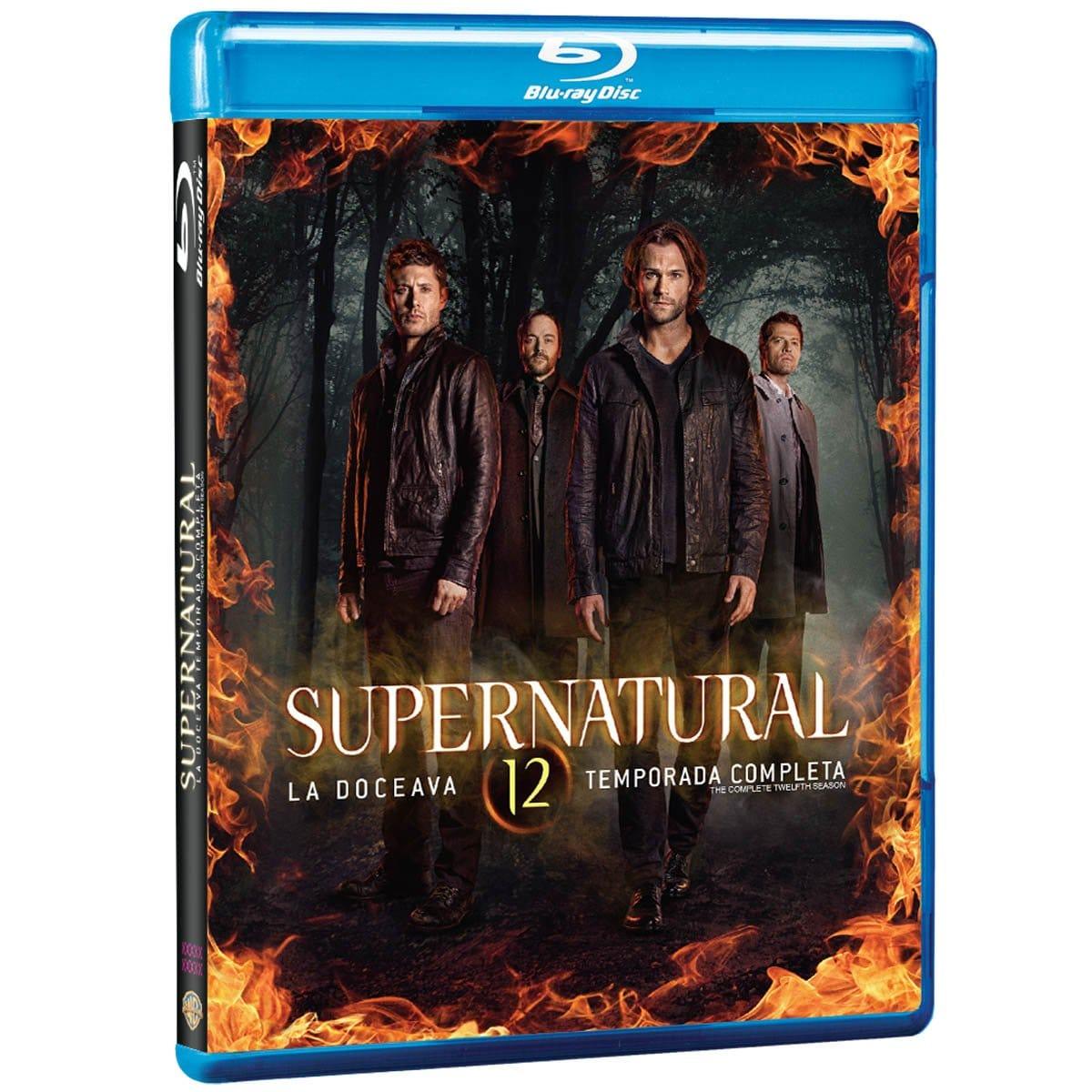 Blu Ray Supernatural - Temporada 12