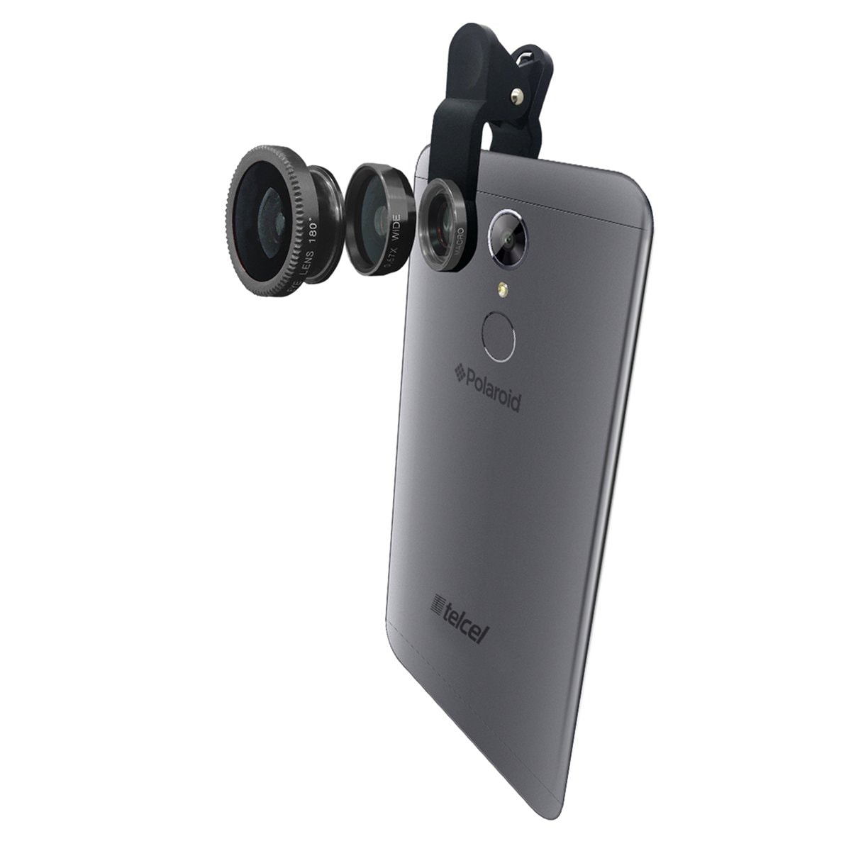 Celular Polaroid Cosmo Z P5047 Color Gris R9 (Telcel)