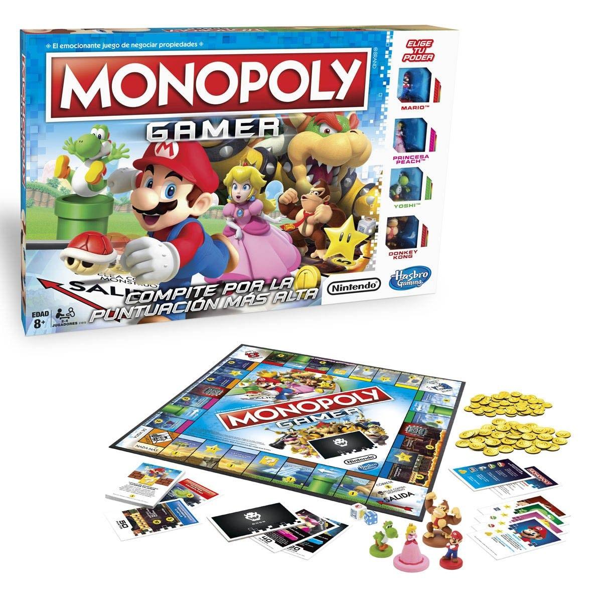 Monopoly Clásico Nintendo Hasbro